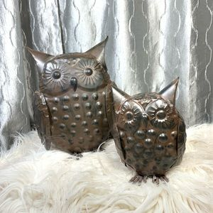 Tin Owl figures